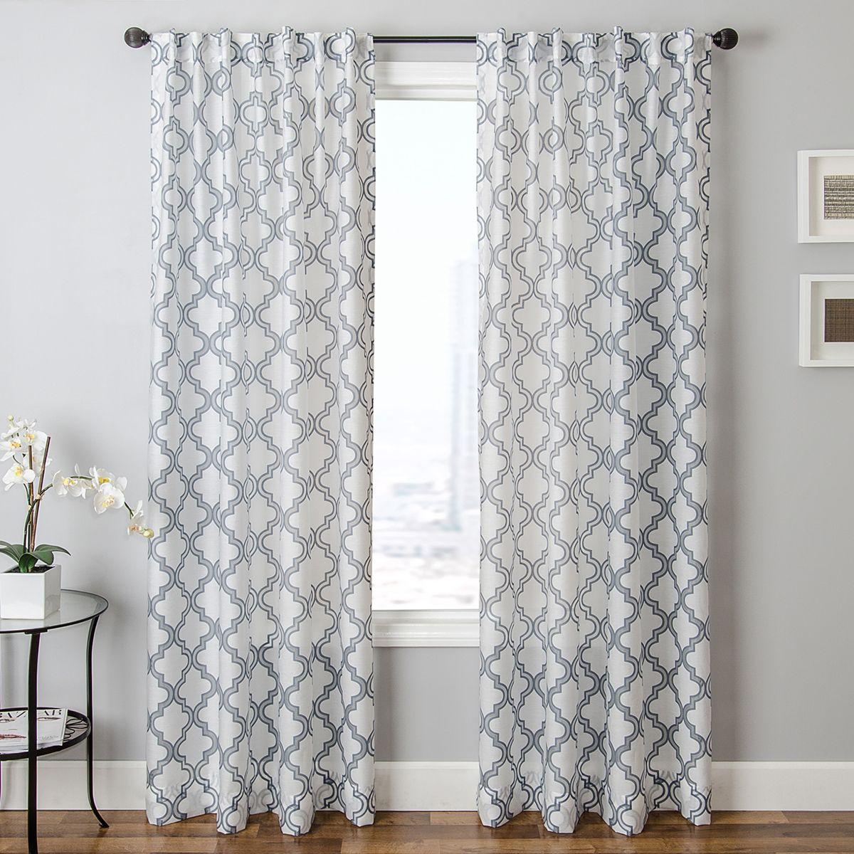 Geometric Pattern Curtains