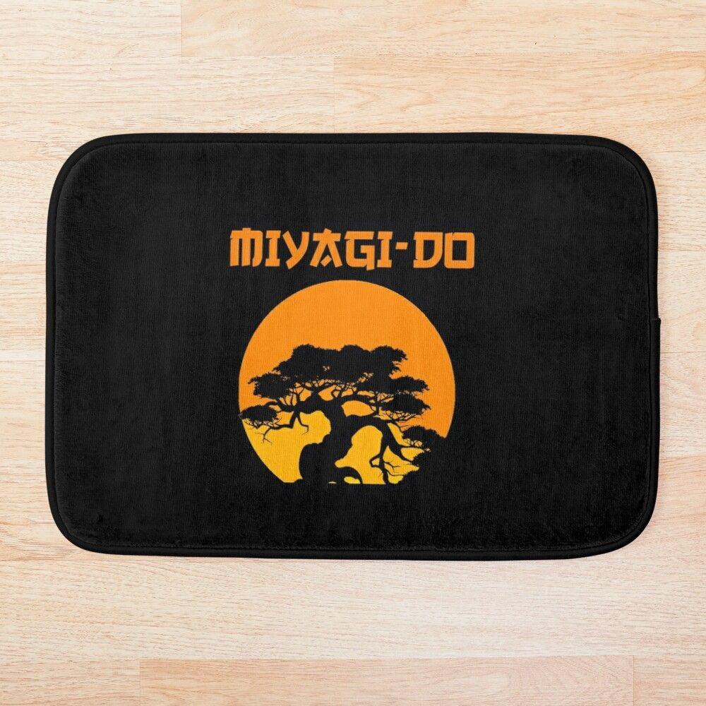 Karate Kid Miyagi Do Bath Mat By Fromthe8tees In 2020 Karate Kid Bath Mat Design Miyagi