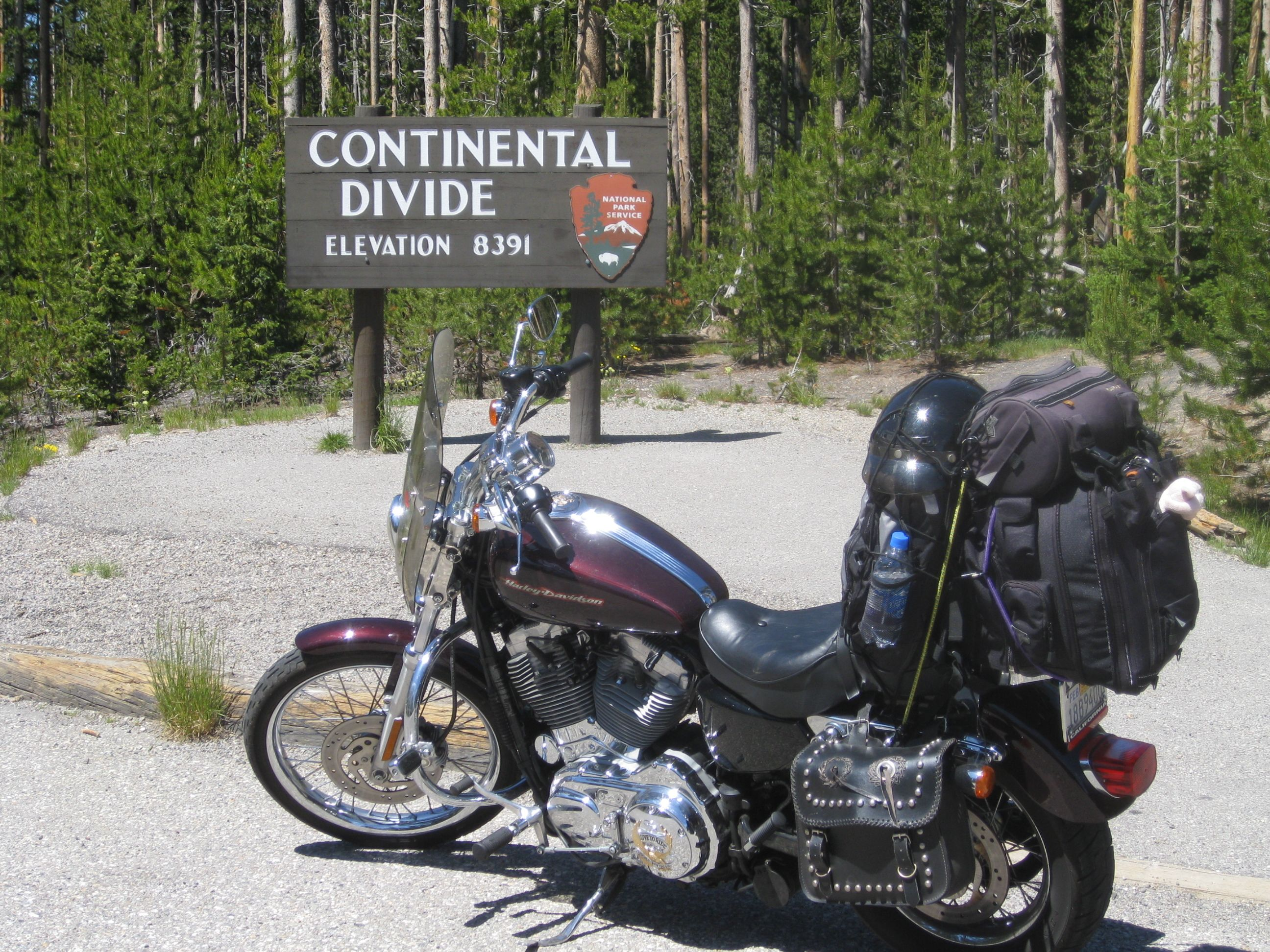 My awesome trip to Yellowstone, 2009 on Peggy Sue.