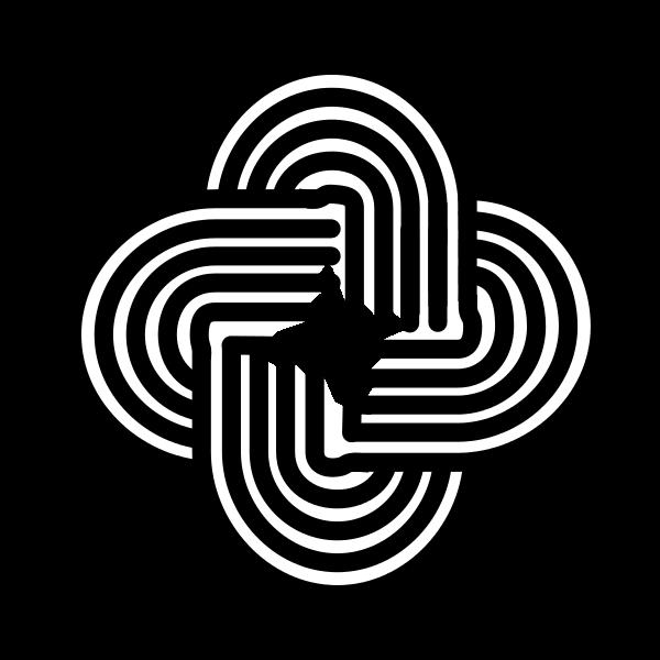 Spanish Asturian Celtic Knot Symbol Called Solomon Graphics