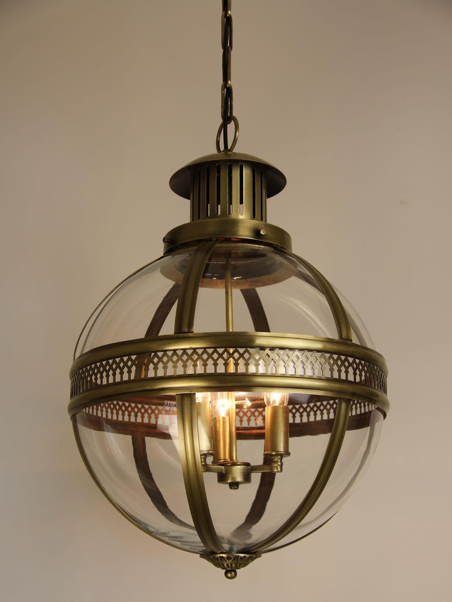 Trea Lighting  Victorian Hanging Lamp Design
