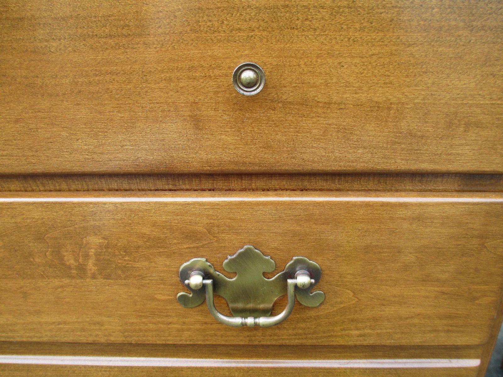 Both Standard Pulls On Ethan Allen Heirloom Furniture Maple Furniture Heirloom Furniture Early American Decorating