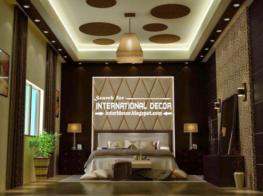 Modern Pop False Ceiling Designs For Luxury Bedroom 2015 Plaster Of Paris Ceiling Jpg Ceiling Design Bedroom False Ceiling Bedroom Bedroom False Ceiling Design