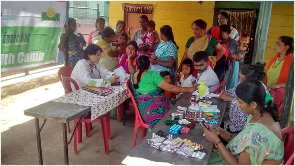 Two special health camps were organized for women, adolescent girls and children in the slums of Mayuranagara and Raichur in Bengaluru, Karnataka, under Smile Foundation's Swabhiman programme. Read more at goo.gl/f23vBG