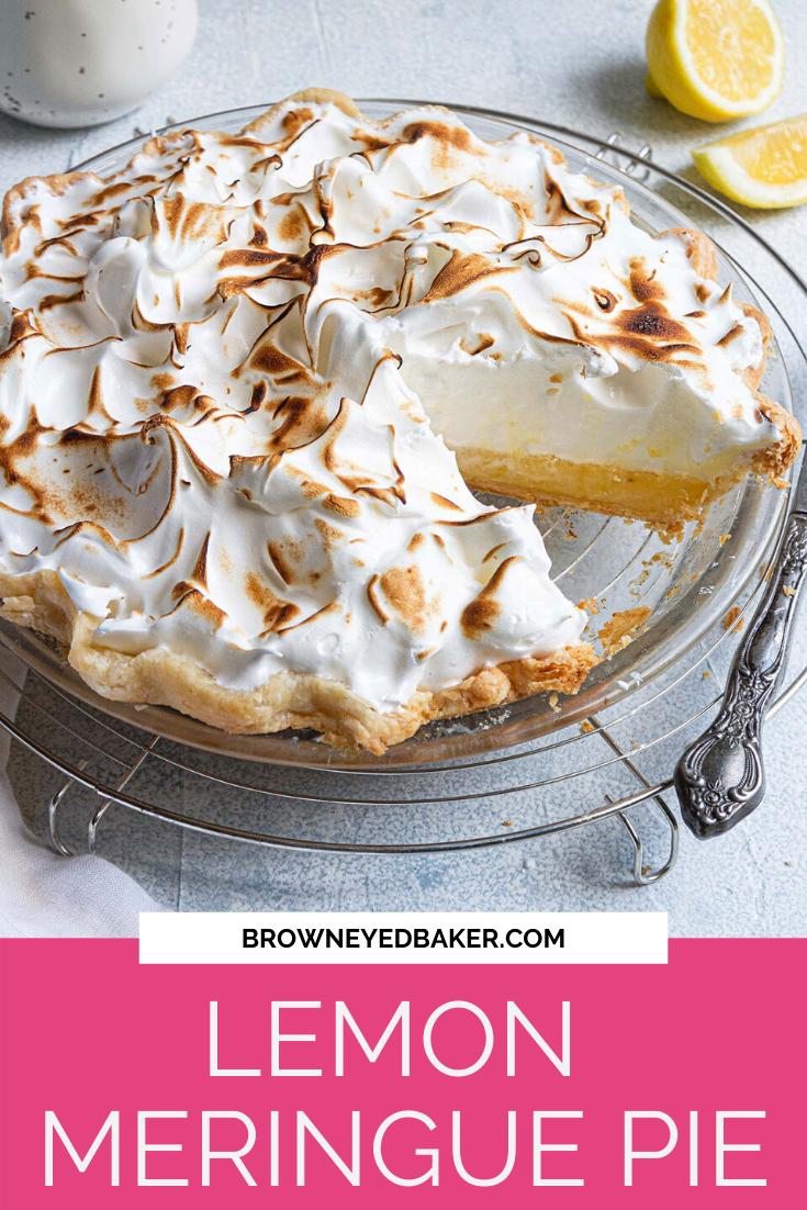 Classic Lemon Meringue Pie Brown Eyed Baker Recipe In 2020 Lemon Dessert Recipes Meringue Pie Best Lemon Meringue Pie