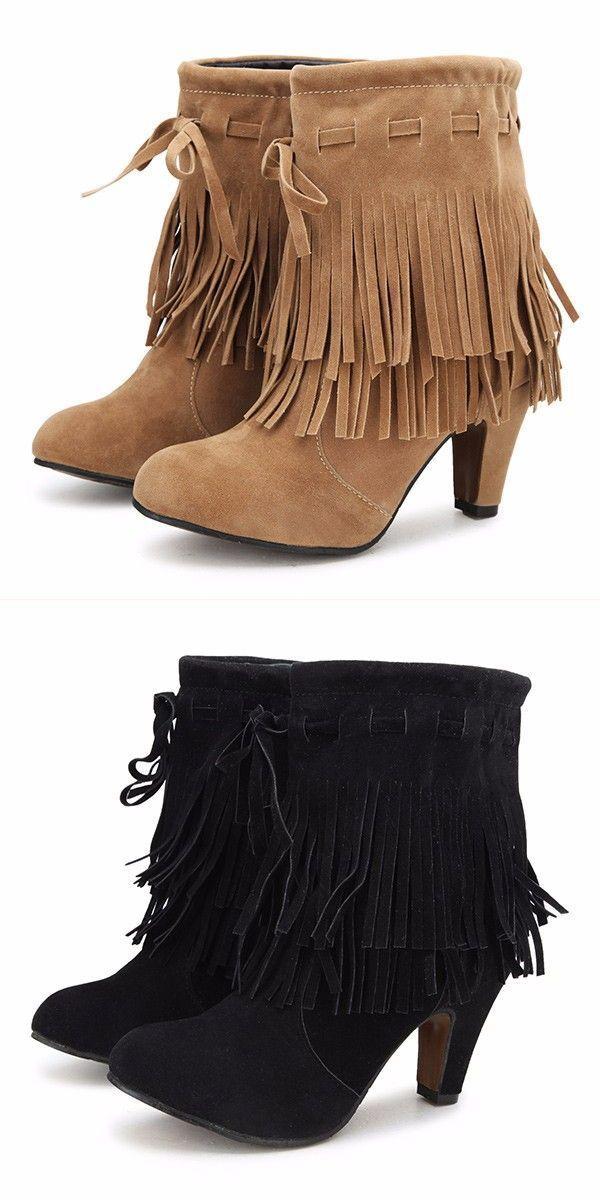 Bootstrap 4 Tutorial Women Fashion Winter Boots Tels Round Toe Fine Heels Ankle Short