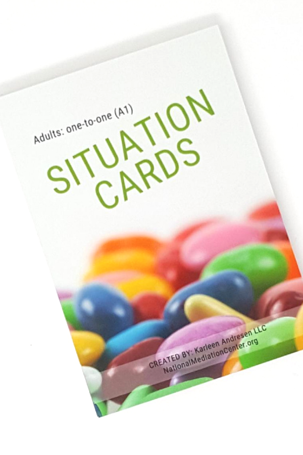 Problem solving game for adult or young adults