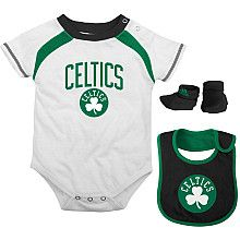 8a664c2f3a3 Boston Celtics Outfit - to match daddy! | Babies | Celtics apparel ...