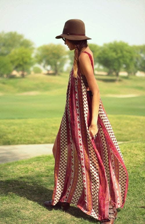 Printed Sleeveless Long Maxi Dress Fashion For This Summer