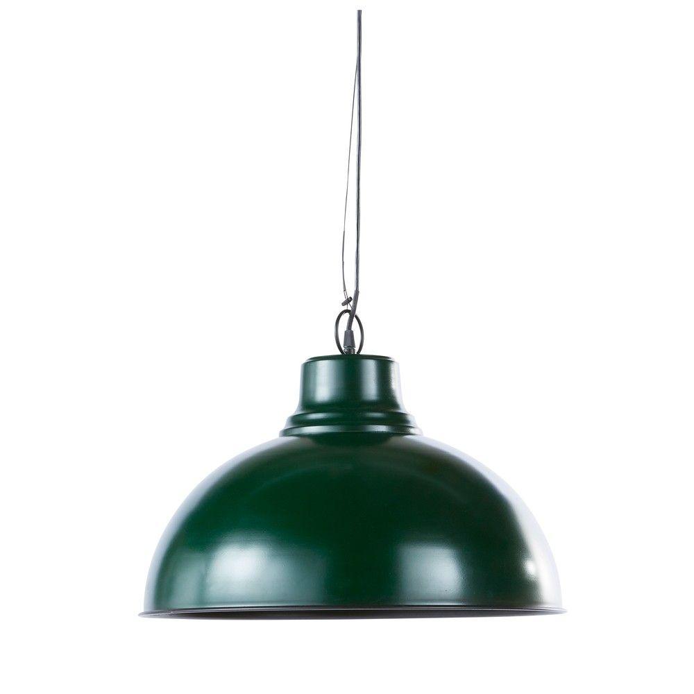 Metallhangelampe Im Industriestil Dunkelgrun Jetzt Bestellen Unter Https Moebel Ladendirekt De Lampen Deckenleuchten Deck Lampen Deckenlampe Deckenleuchten
