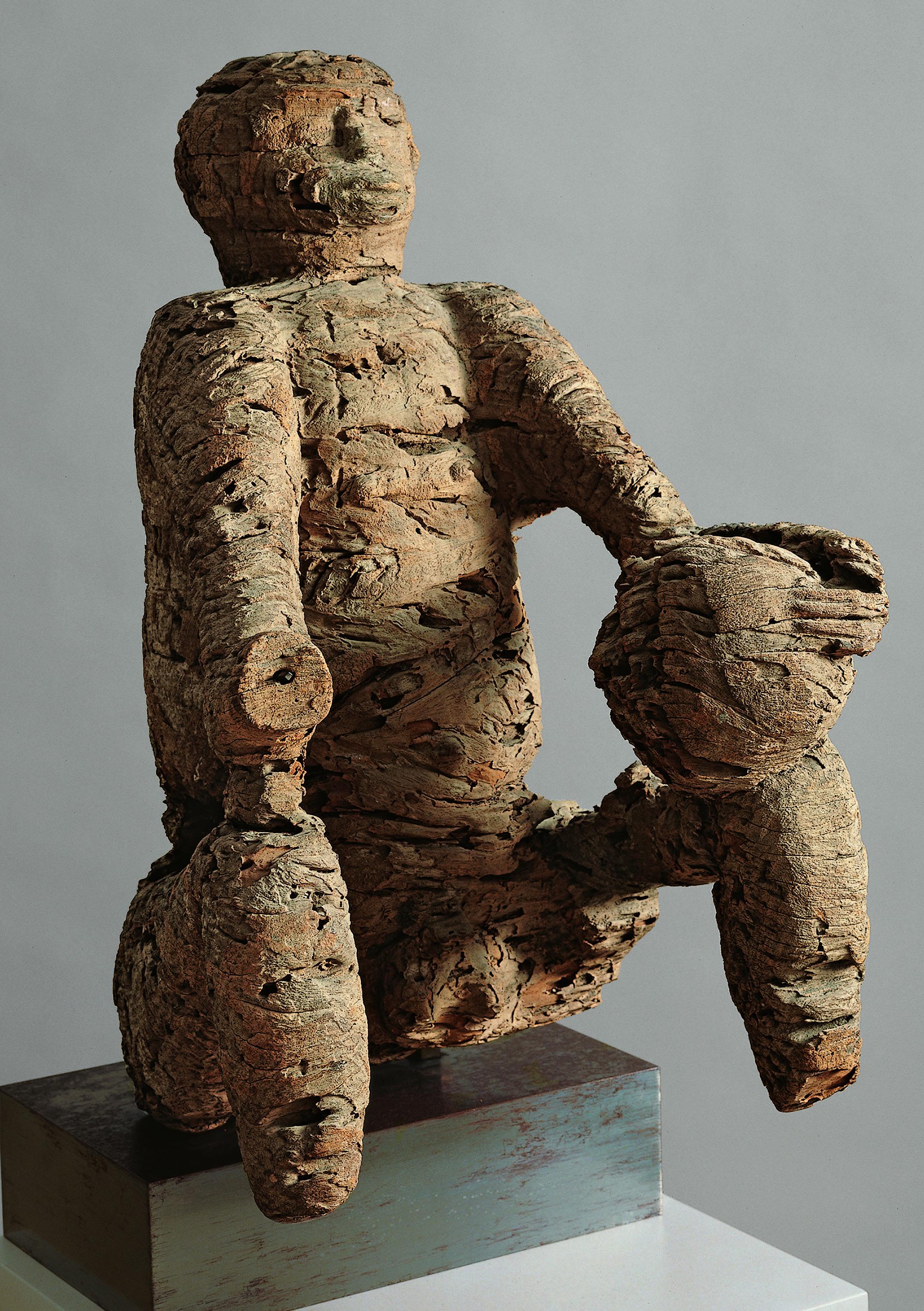 Seated Male Figure with Trophy Head: Chief Mabana - Mbembe peoples; Ewayon River region, Cross River Province, Nigeria -helene-kamer-interview-african-art-dealer-04.jpg (2151×3051)