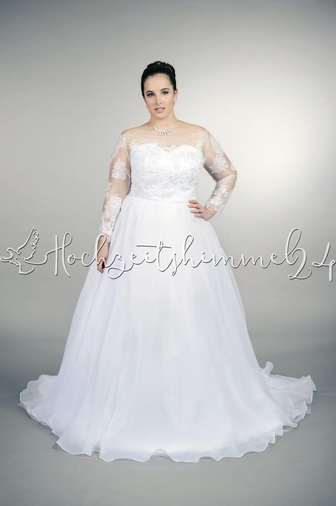 Plus Kimara Brautkleid Übergröße Plus XXL Große Größe A-Linie