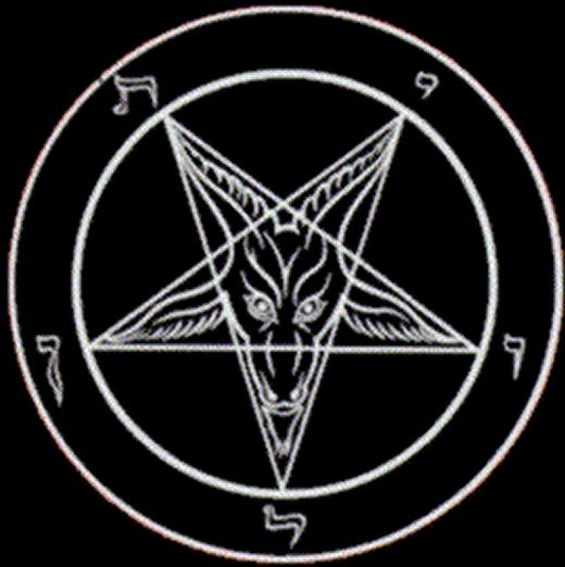 Pentagrama Invertido Associado Imagem De Baphomet Music Art