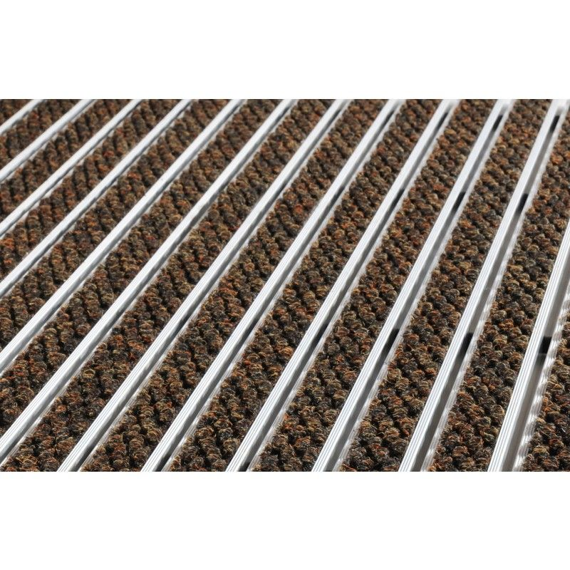 Tapis D Entree 22r Tapis D Entree Sur Mesure Absorbant Sur Structure Aluminium Elimination Efficace De L Humidite Pour Un Trafic Normal Tapis D Entree Tapis