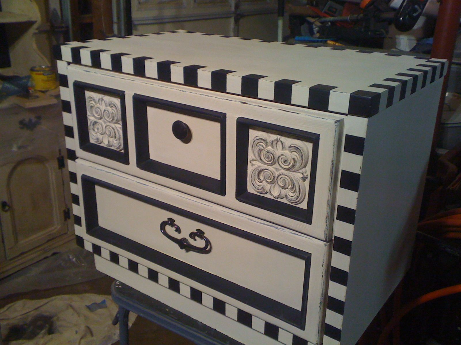 MacKenzie Childs Inspired Accent Table