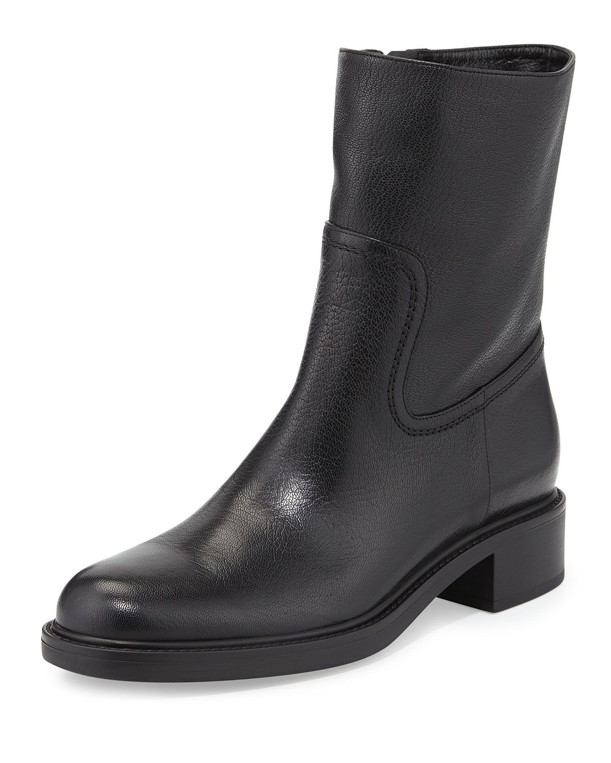 1a7327ca6 Maud Leather Ankle Boot Black | *Apparel & Accessories > Shoes ...