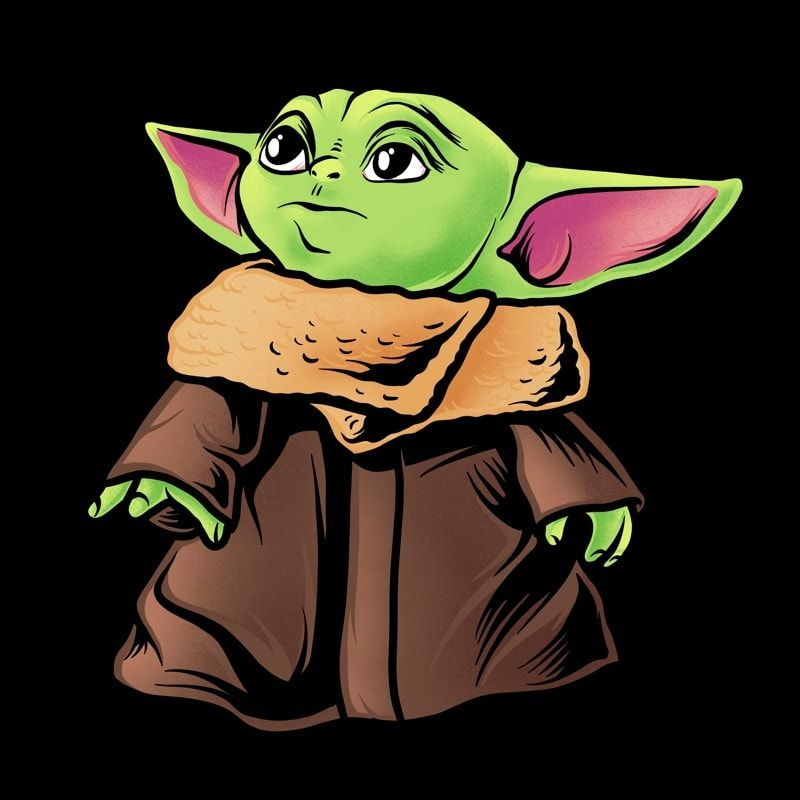 Baby Yoda Png Transparant Background Baby Yoda The Mandalorian The Child Png Star Wars Png The Child Png T Shirt Template