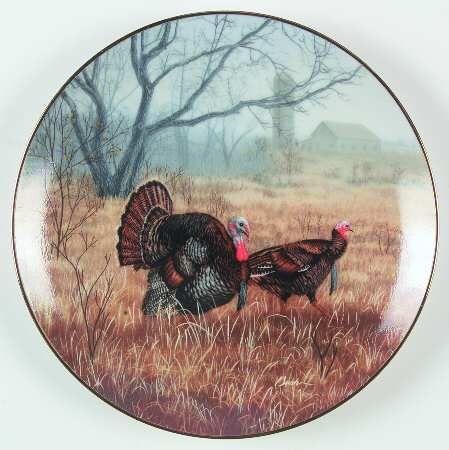Field Birds of North America: Wild Turkey - WS George - Artist: Darrell Bush
