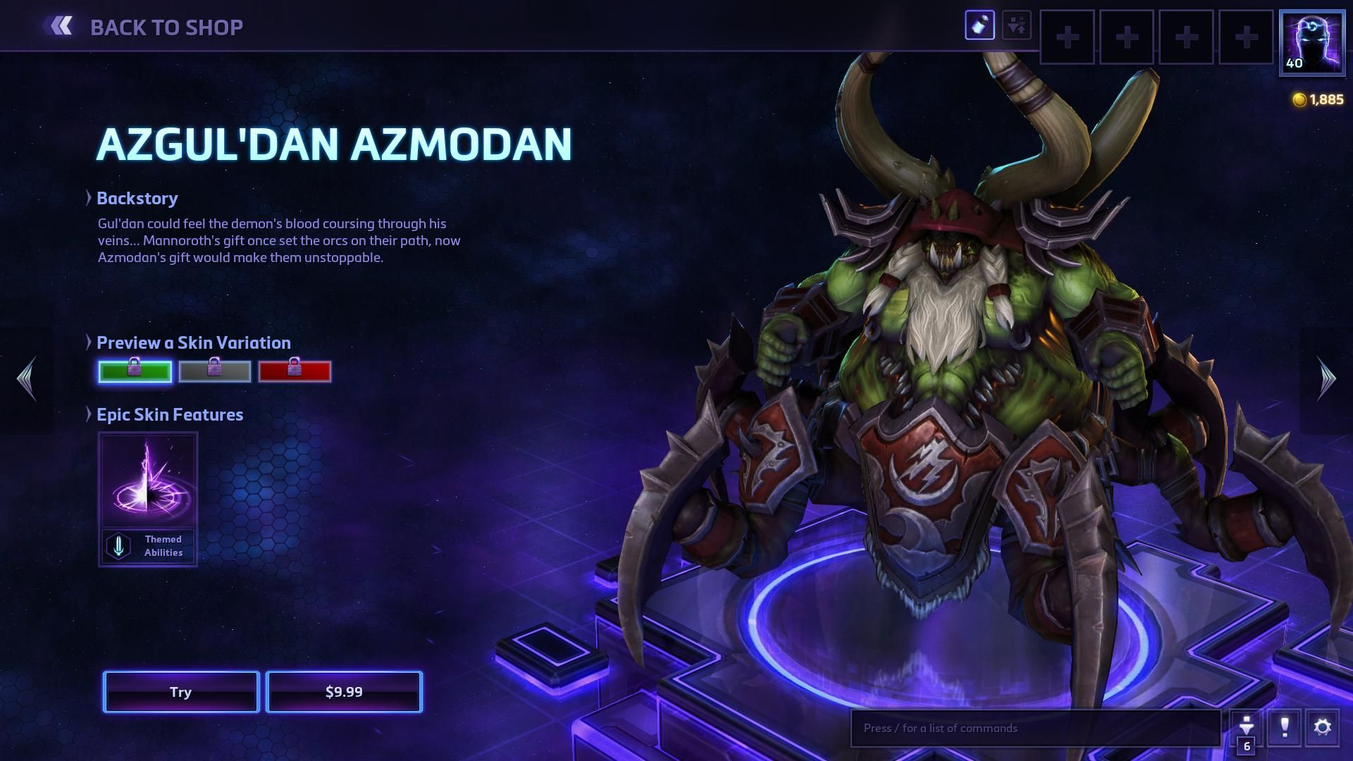 heroes of the storm character dota