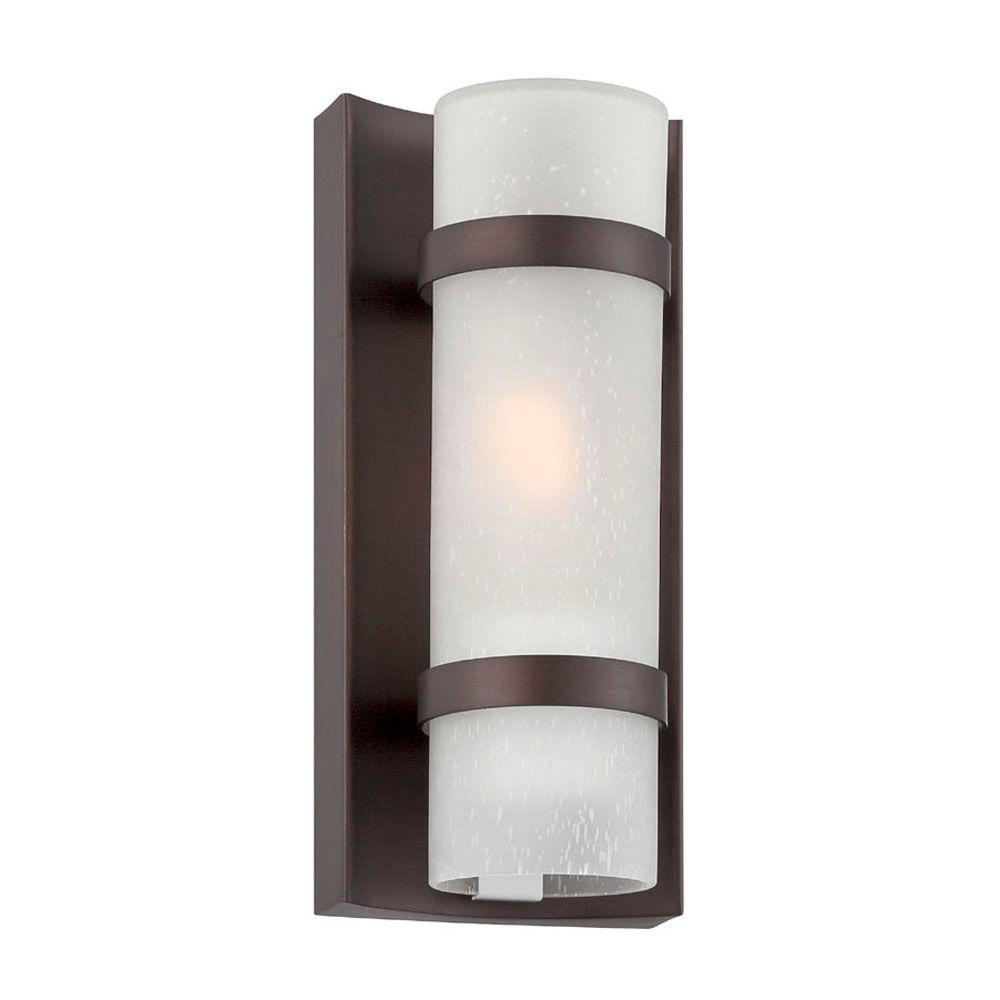 Acclaim Lighting Apollo Collection 1-Light Architectural Bronze ...