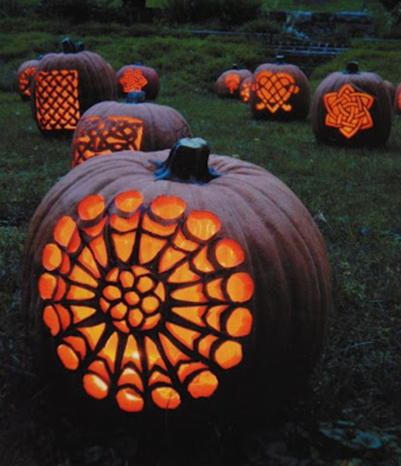 Halloween Decorating Ideas | Pumpkin Carving Patterns | Celtic Pumpkins