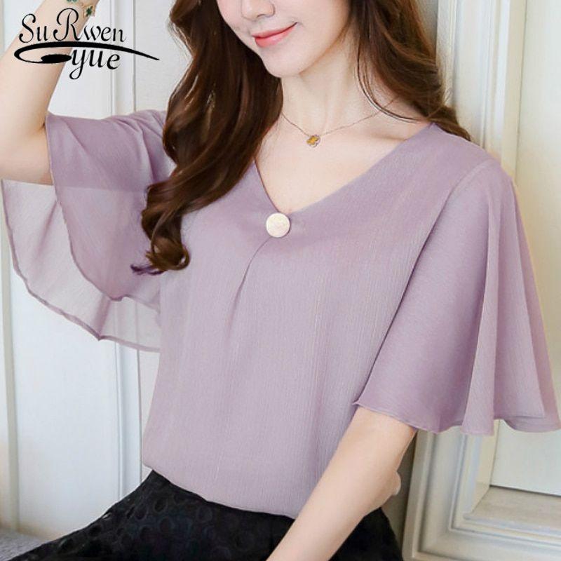 Cheap Blouses Shirts Buy Directly From China Suppliers 2018 Fashion Chiffon Women S Clothing Shirts To Women Shirts Blouse Women Shirt Top Blouses For Women