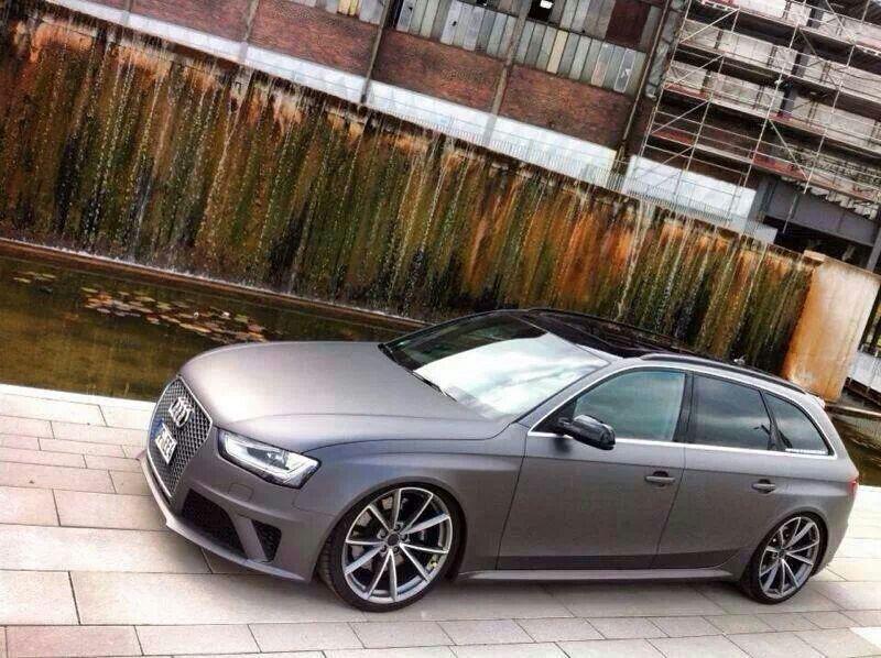 Matt Grey RS6