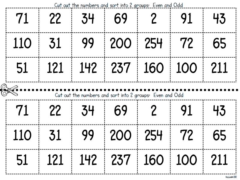 Even And Odd Activities Pdf Google Drive Teaching Math Second Grade Math Elementary Math
