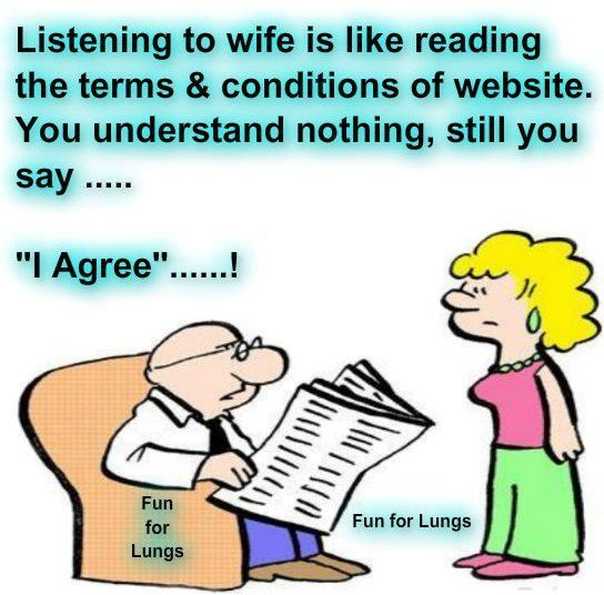 Husband Not Listening Meme