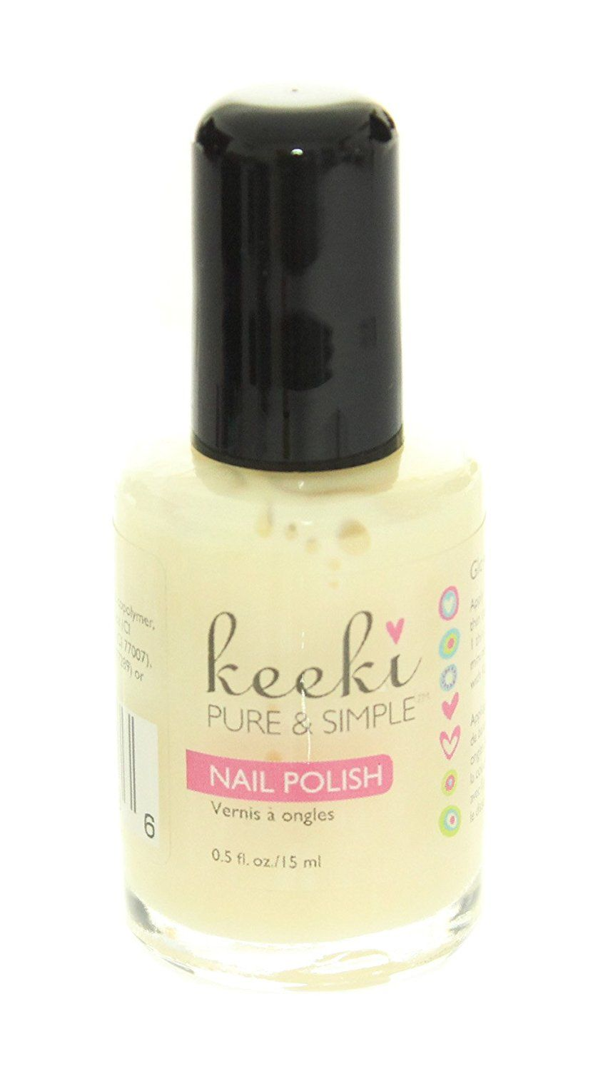 Keeki Pure and Simple Nail Polish, Glow In The Dark, .5 Fluid Ounce ...