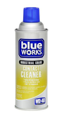 Blue Works Industrial Grade Contact Cleaner Spray 11 Oz