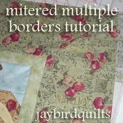How To Make Multiple Mitered Borders Quilting Techniques Quilt Tutorials Quilting Designs