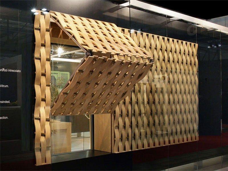 celosa de bronce e madera celosa by isam italian exclusive windows and doors diseo ferruccio