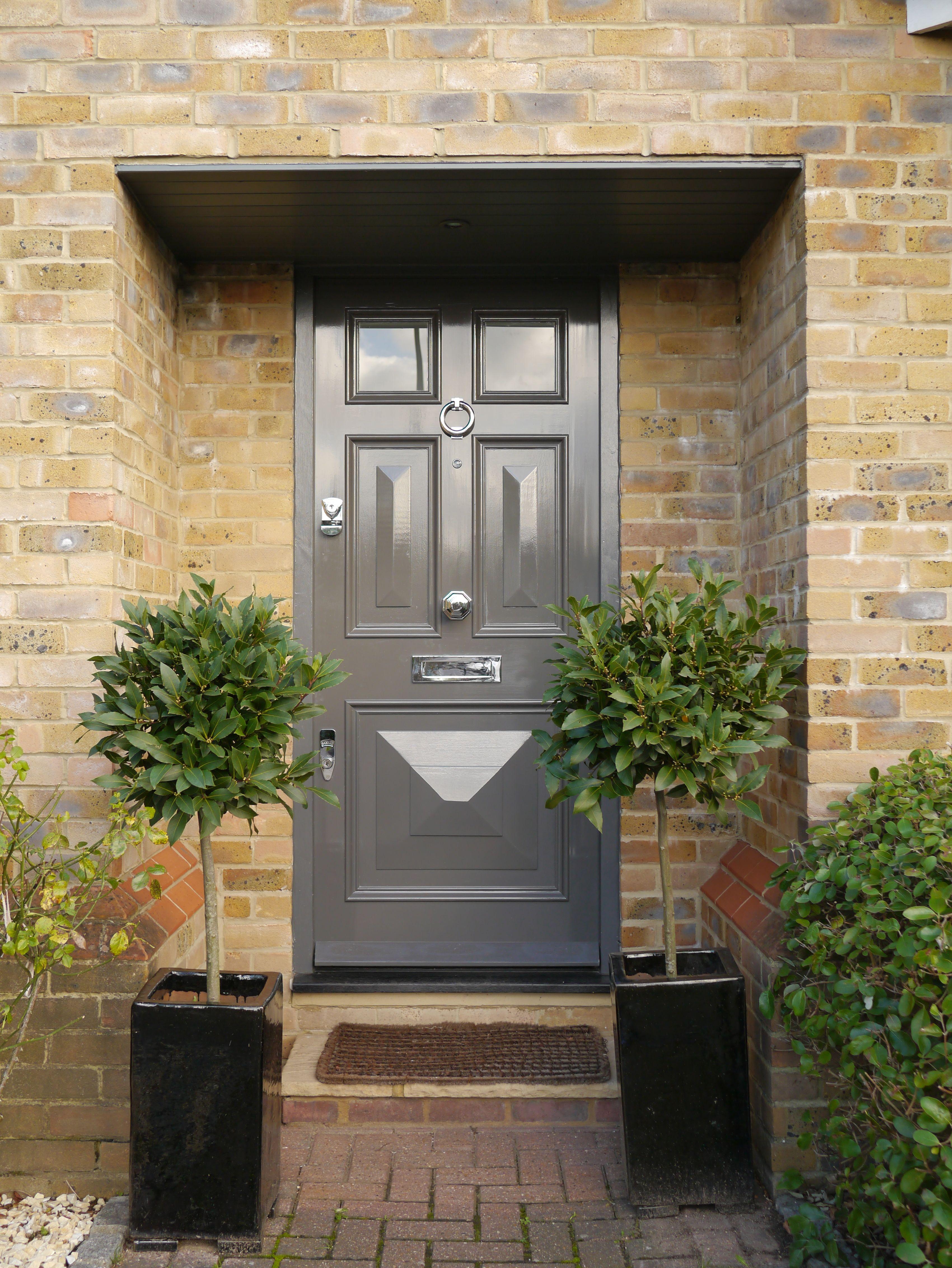 The London Door Company Wimbledon, London - LDC Dark Grey Nickel ...