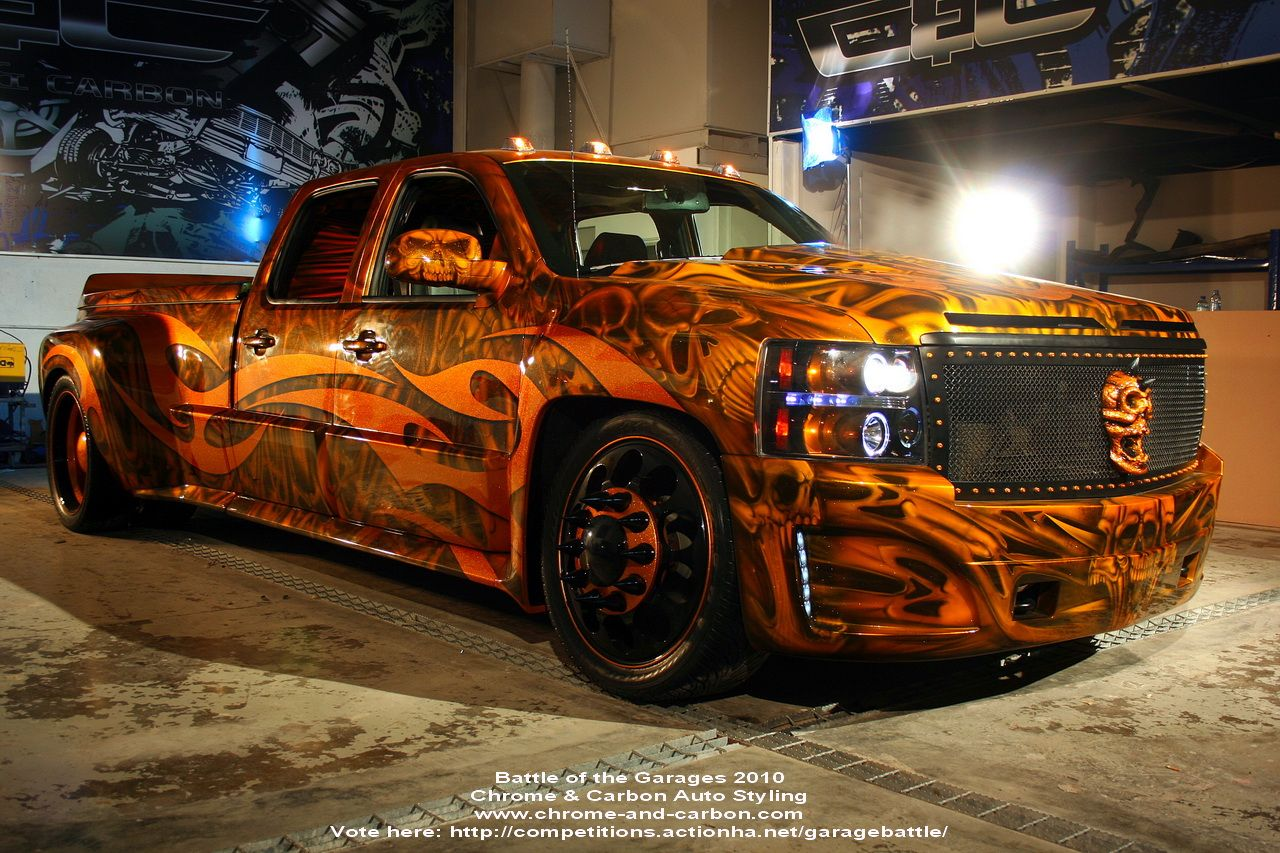 pimped out trucks - Google Search | Awesome trucks n paint jobs ...
