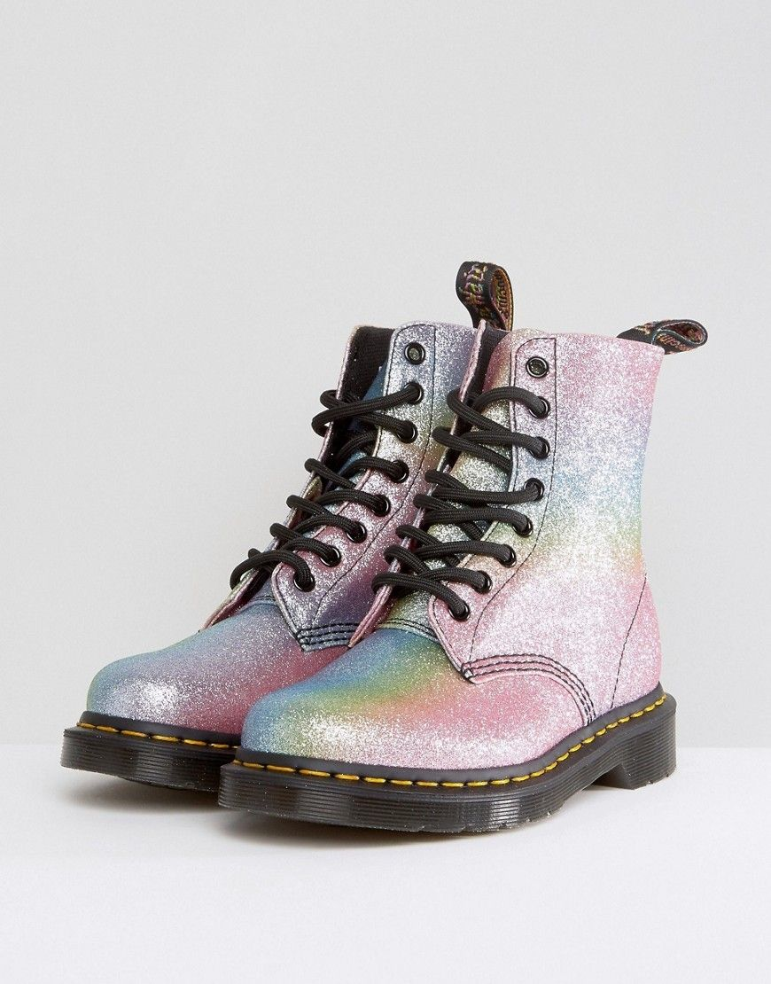 """shoelust:""""Dr. Martens""""   Boots, Glitter shoes, Me too shoes"""