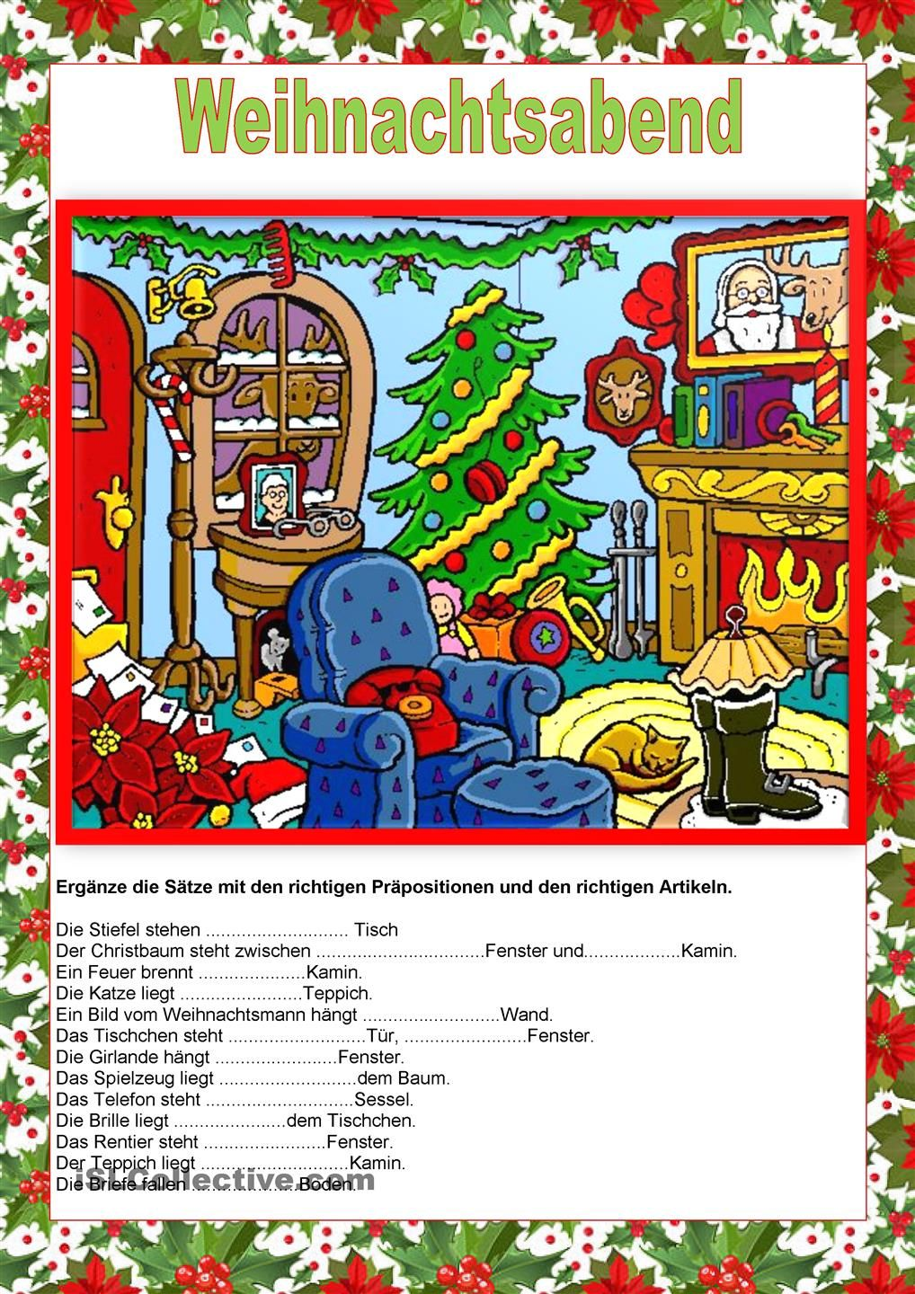 weihnachtsabend pr positionen hallo kinder wir. Black Bedroom Furniture Sets. Home Design Ideas
