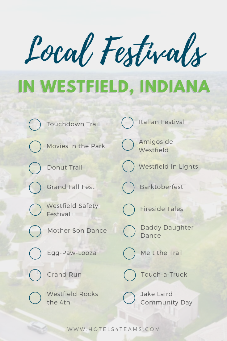 Westfield is a small and charming town that regularly