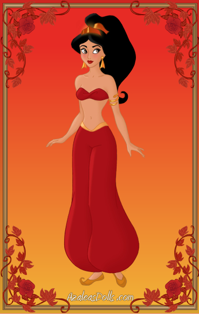Jasmine { Red Outfit } by ~kawaiibrit