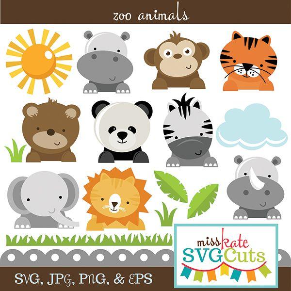 Pin By Casey Leonard On Animals Zoo Animals Animal Cutouts Baby Zoo Animals