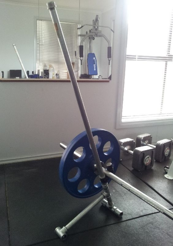 Diy deadlift jack with a longer handle gym related no