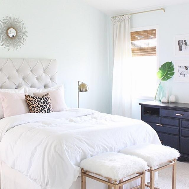Fun fact More than half of the furniture in this bedroom is DIY