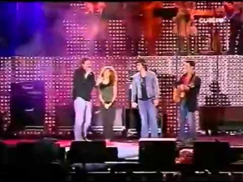 Corazon Partido Alejandro Sanz, Juanes, Shakira, Miguel Bose, David Bisbal y Ana Torroja - YouTube
