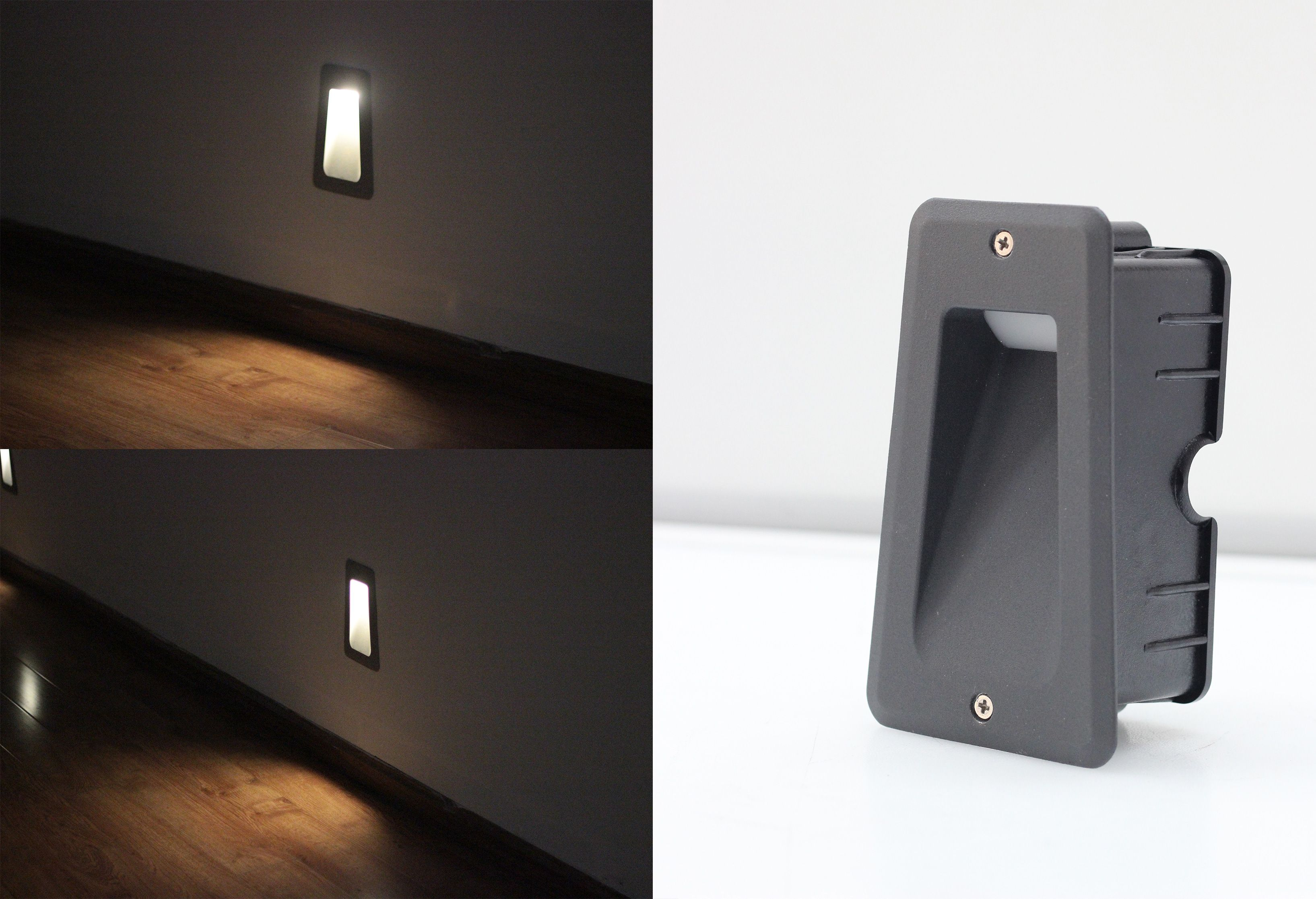 Lighting Art On The Walls Led Step Lights Economical Serie With High Quality Performance Helps Your Garden With Images Led Wall Lights Led Step Lights Step Lighting
