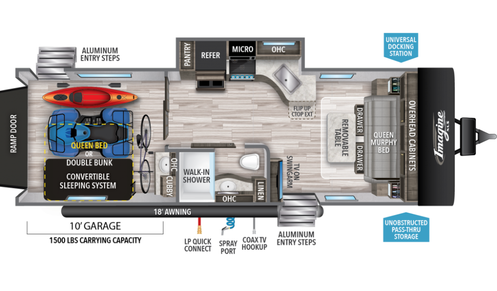 Pin On 2020 Rv Floor Plans