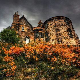 Camouflaged castle