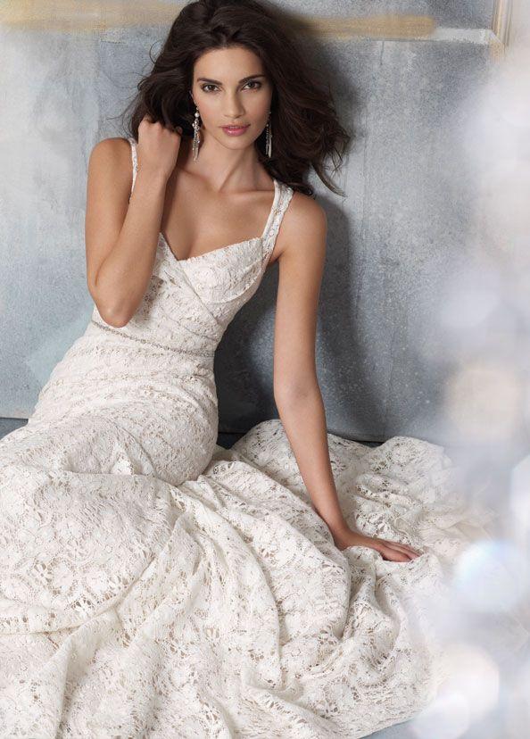 Jim Hjelm 1104 Size 10 Wedding Dress | Bridal gowns, Wedding dress ...