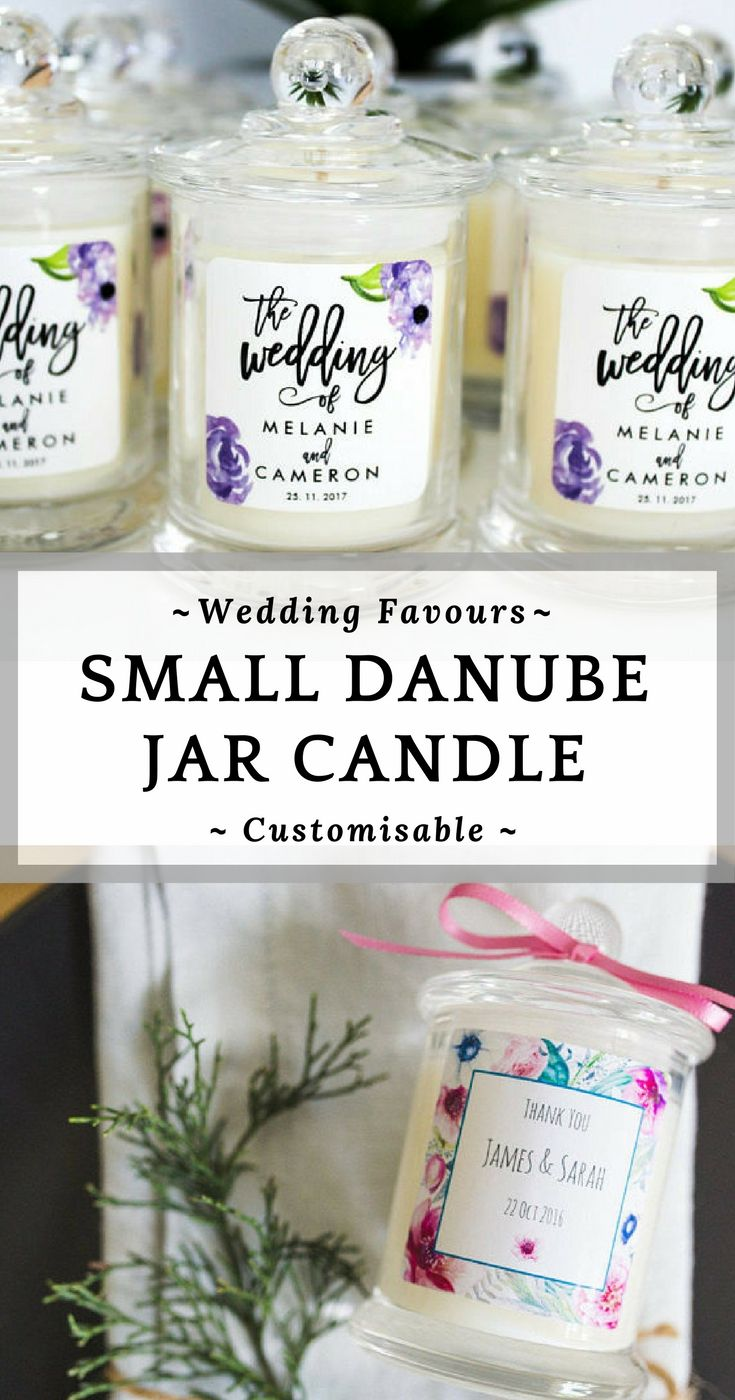 Present your wedding guests with this gorgeous small danube jar ...