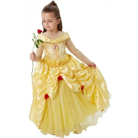 Disney Princess Belle costume Dress Up Set Enfants Fantaisie 3-6 Ans Fête Halloween