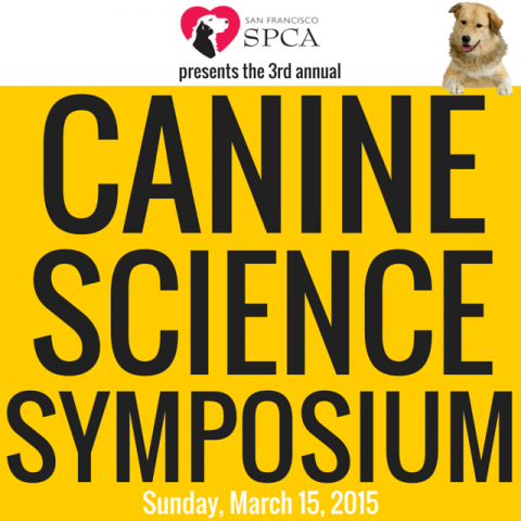 The 2015 Canine Science Symposium at the SF SPCA